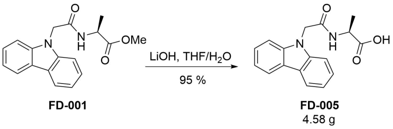 Reaction Scheme: Deprotection of <a target=